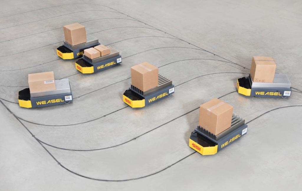 Робокары в складской логистике