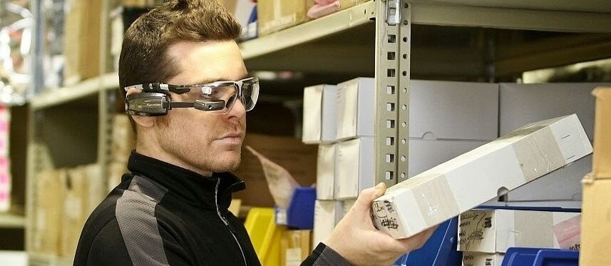 SMART очки для склада